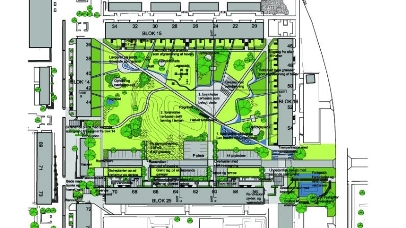Planforslag af Baldersbo Afd. 12