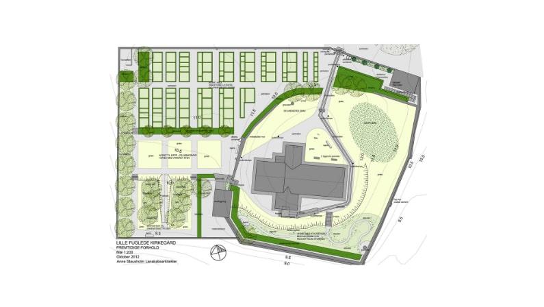 Helhedsplanen for Lille Fuglede Kirkegård
