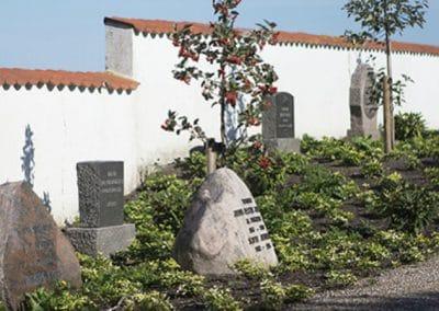 Lille Fuglede Kirkegård, lapidarium