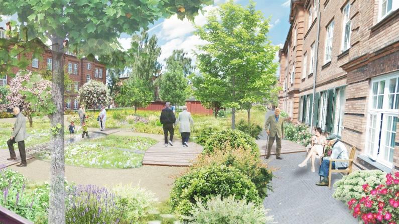 Visualisering af boliger, De Gamles By