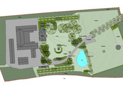 Roskilde, forslag til park