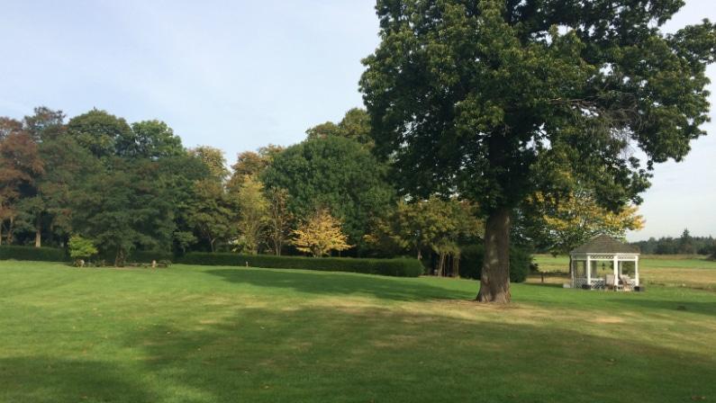 Foto af parken, Torp Ladegård