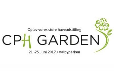 Vi deltager i haveudstillingen CPH Garden 21. – 25. juni 2017