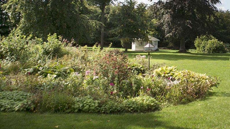 Stemningsbillede fra haven, Herslevgaard