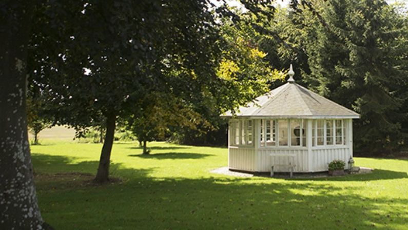 Lysthuset i haven, Herslevgaard