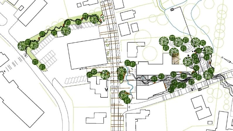 Baghaven, Plan forslag