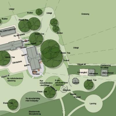 Nye Byrum på Haslev Kirkegård