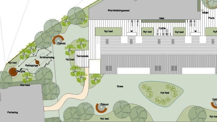 Forslag til legeområde, VAB St. Merløse
