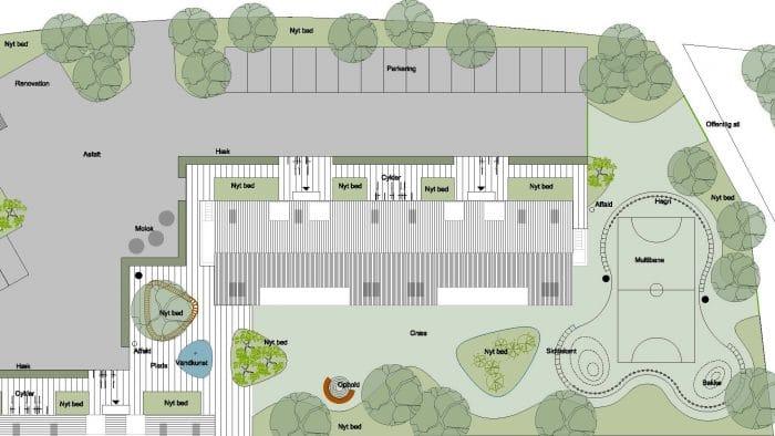 Forslag til multibane, VAB St. Merløse