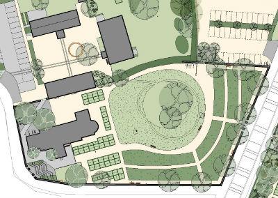 Hårlev Kirkegård, Udviklingsplan