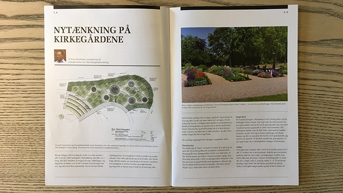 Tidskriftet Kirkegården, foto