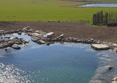 Svømmesø med udsigt til Skjoldungernes Land