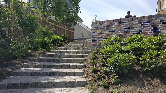 Have i Nordsjælland, detalje trappe