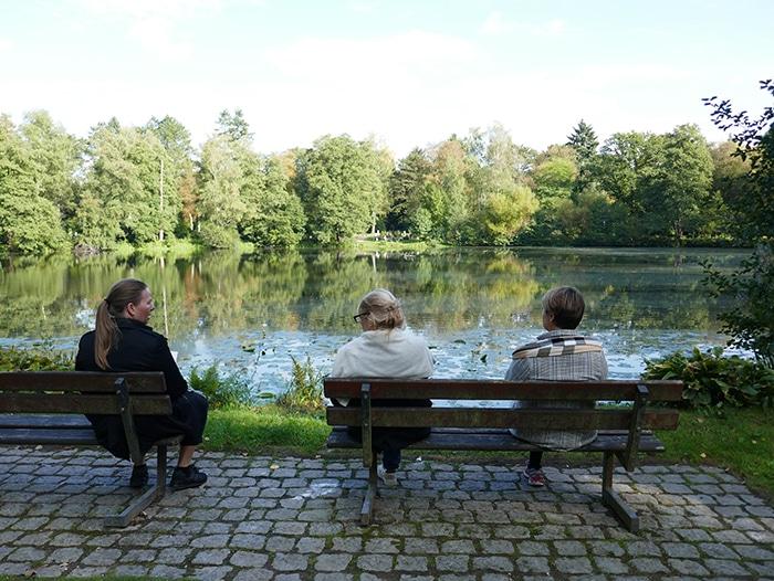 Foto fra Fridhoff Kirkegård, Hamborg
