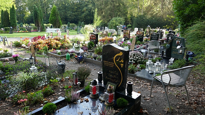 Foto Det Islamiske Afsnit, Fridhoff Kirkegård Hamborg