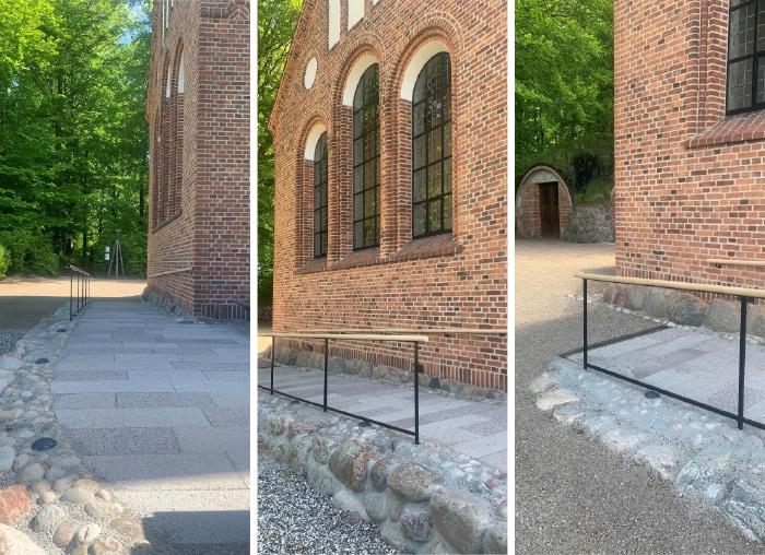 Foto af rampe, Høsterkøb Kirke